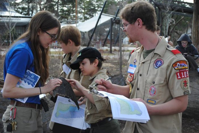 Tracy Aviary is the perfect place to work on your Boy Scout Bird Study Merit Badge.
