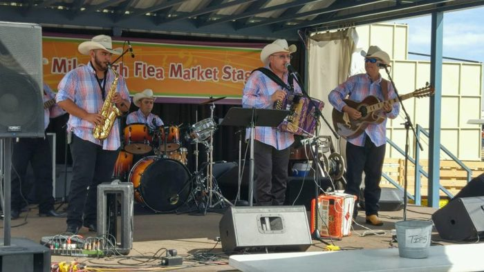 The Mile High Flea Market also features live music most weekends throughout the year, so check their schedule for events and times.
