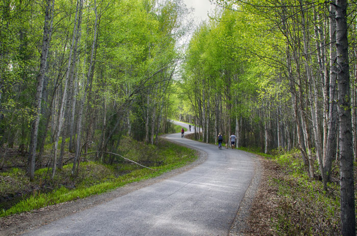 1. Tony Knowles Coastal Trail - Anchorage