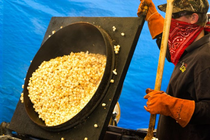 Can't smell the fresh kettle corn wafting from the screen?  If you were at the Mile High Flea Market you would know how great Willy's Kettle Corn smells because they make it fresh all day!