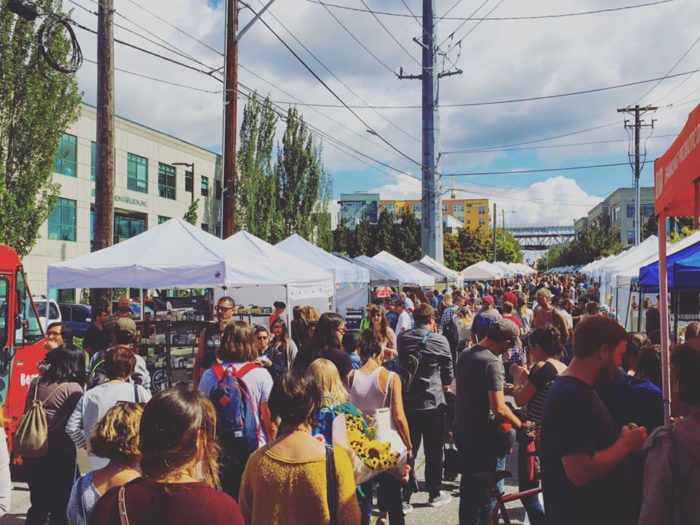 Fremont Sunday Market was founded in 1990, and boasts that it's one of the longest-running flea markets in the state. You'll find it at the corner of 3410 Evanston Avenue North.