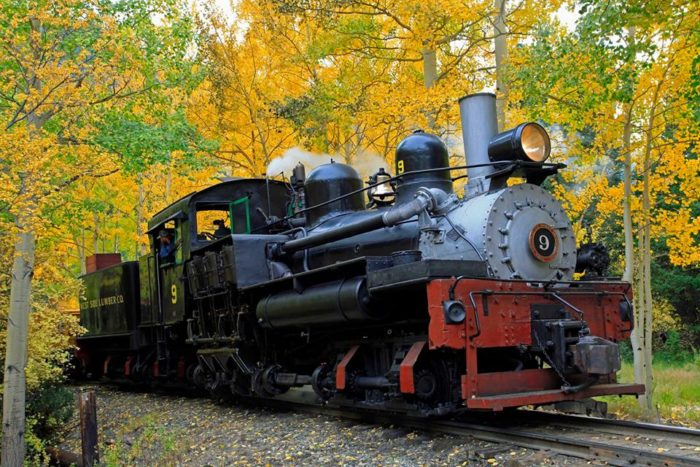 ...the Fall Colors ride, which runs between the scenic Devil's Gate & Silver Plume Depots.