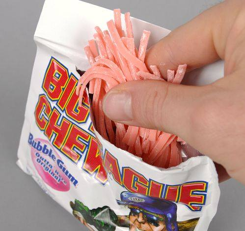 10. When you wanted to be cool like the guys on the Rangers or Astros, you chewed this instead of the real stuff.