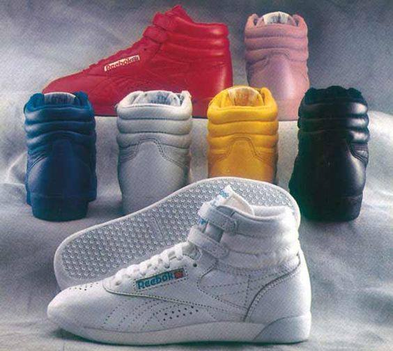6. You wore your Reeboks everywhere you went.