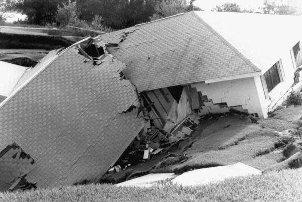 3. Florida is the state with the most damage from sinkholes.