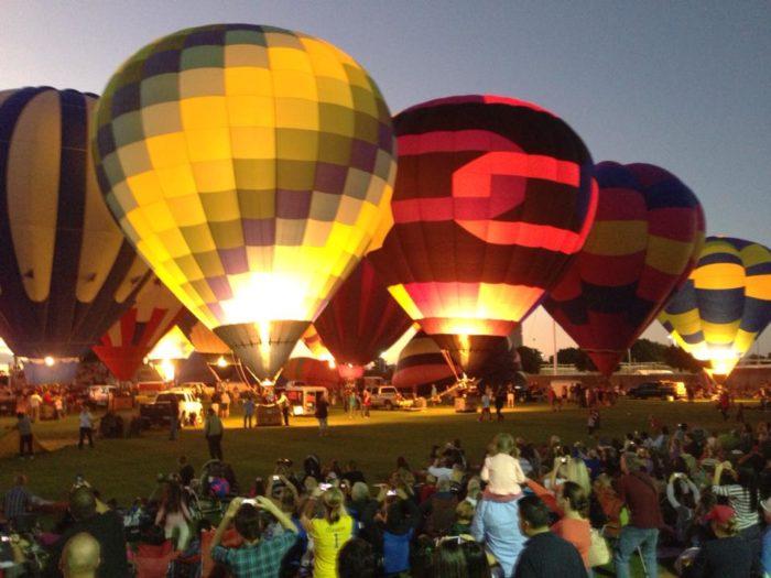 5. Colorado River Crossing Balloon Festival, Yuma