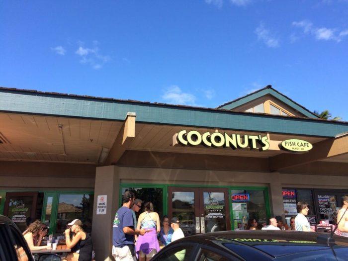15. Coconut's Fish Cafe, Kihe