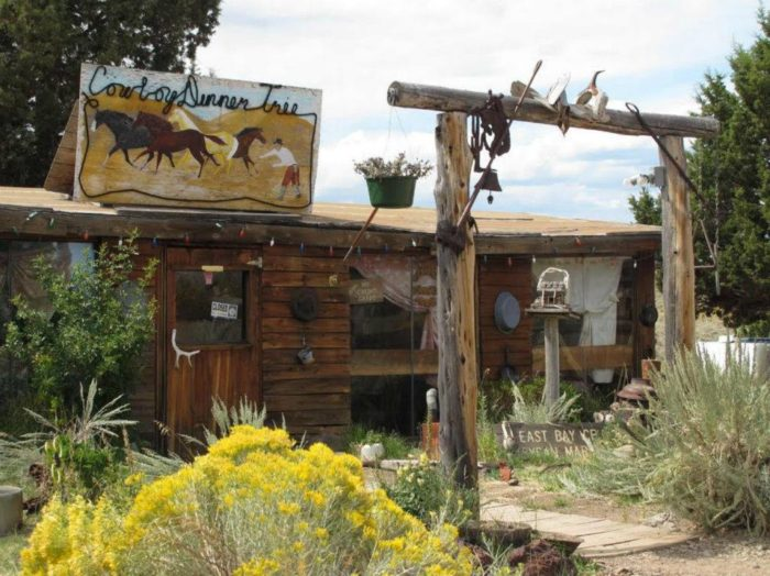 Long ago, before the restaurant was conceived, this very spot was a meeting place where ranchers from all over the area would get together to share a meal and take a break from their hard work.