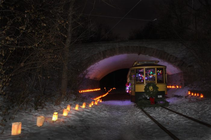There are also special events throughout the year. Trick 'r Train is a Halloween ride for families, or go for a more adult-themed night at Ghost Trolley Late Show. The Holley Trolley is open to everyone.