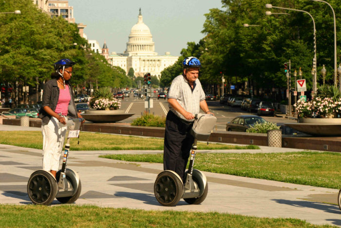 4. Take a segway tour.