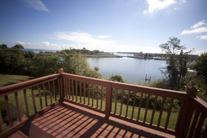 There are several vacation rentals available on the island, most of them boasting serene water views.