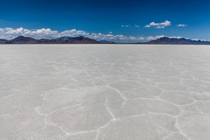 4. Bonneville Salt Flats