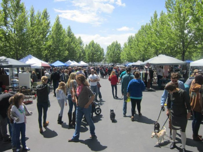 The Urban Flea Market started in 2011, and has been growing ever since. It's held one Sunday per month all summer.