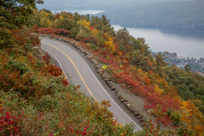 1. Drive up Prospect Mountain to enjoy an amazing view of Lake George!