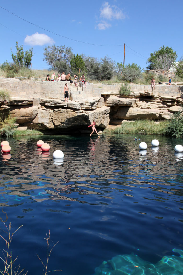 27. Plunge into the Blue Hole.