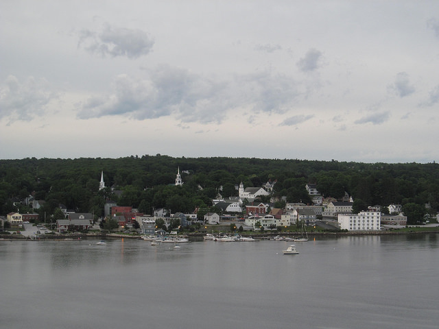 The small town came to be as parts of Frankfort were set off and incorporated, ultimately being given new names.
