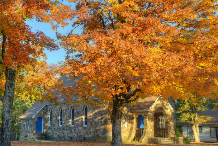 You'll find the beauty of the Ozark National Forest touches everything you pass on the road.