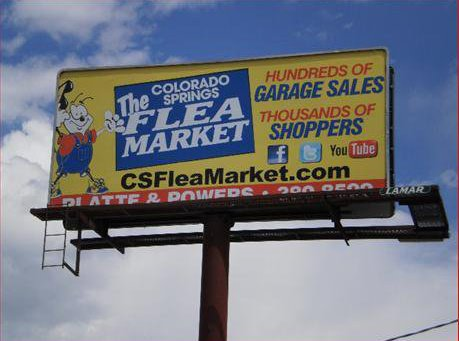Alright, Southern Colorado: Do you recognize this billboard? Have you ever taken its advice and visited the 30-acre market? If you haven't, here is what you've been missing:
