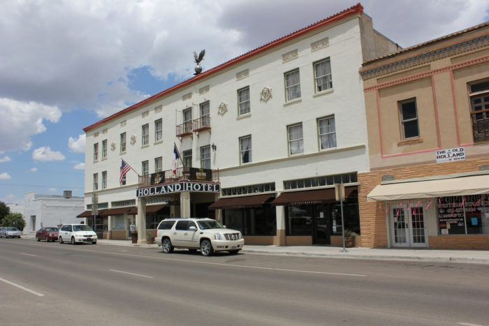 It's no surprise that the Holland Hotel is haunted considering it has been around for nearly a century.