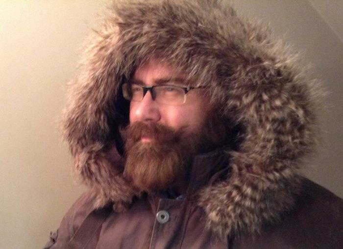 9. You know how to grow a beard.