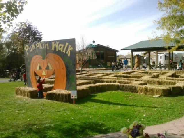 10. Pumpkin Walk, Benson Grist Mill