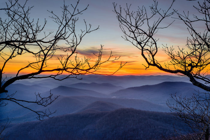In fact, Blood Mountain is known as being the tallest point on the entire Appalachian Trail in the state of Georgia.