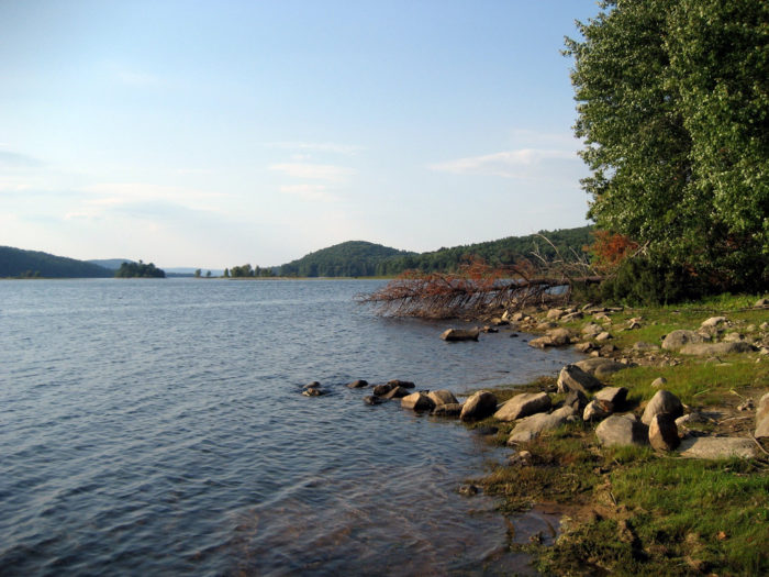 The state decided to construct the Quabbin Reservoir. However, there was a problem: four fully-populated towns stood on the proposed site of the reservoir.