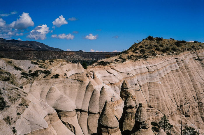 20. Go hiking at Kasha-Katuwe Tent Rocks National Monument.