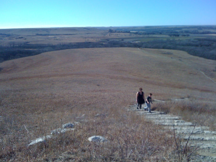 Tucked away in the native tallgrass prairie that is the Flint Hills, the 8,616 acre Konza Prairie may not seem like it would be anything special, but it truly is one of the gems of the Sunflower State.