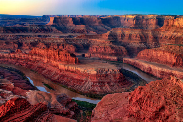 Dead Horse Point State Park is a 45-minute drive from Moab.