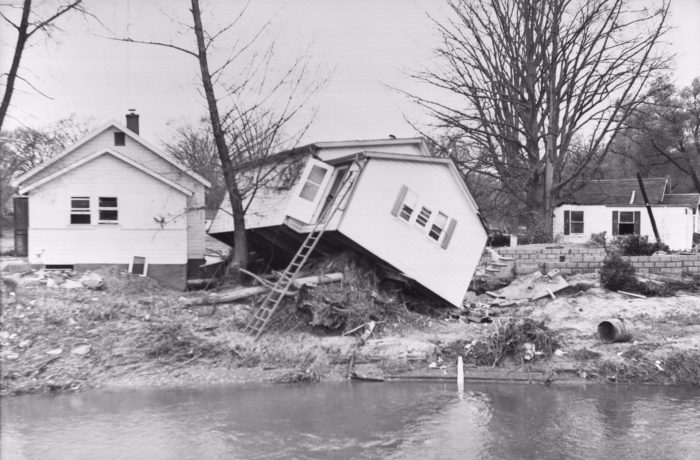Once Hurricane Hazel made her way to Canada, she destroyed thousands of homes and took the lives of 81 people in Ontario.
