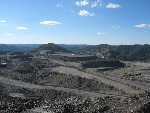 When coal dust sits on a mountain exposed to the weather, it can make the surrounding area a toxic place.