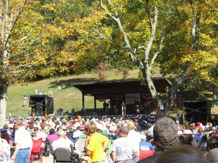 8. Bob Evans Farm Festival (Rio Grande)