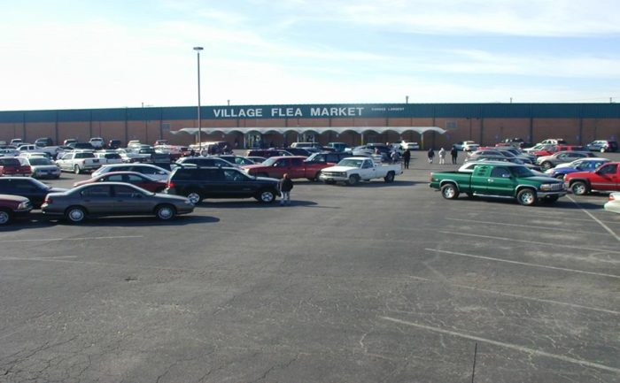 Located in Wichita, Village Flea Market is home to the largest indoor market in the state (hence its mall-ish appearance) with a whopping 100,000 square feet of bargains.
