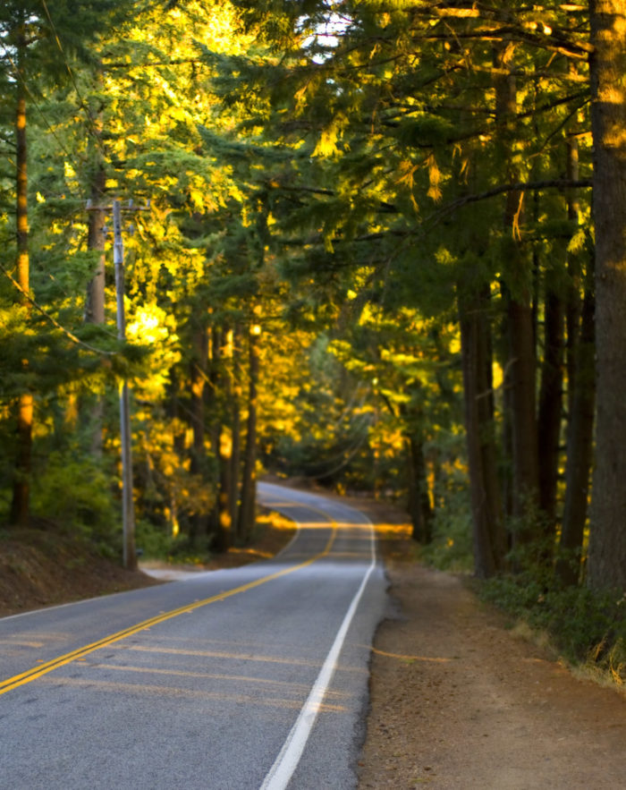 5. Route 35, Skyline Boulevard in Silicon Valley