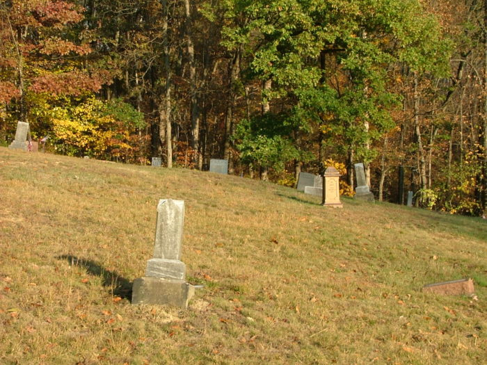 You can find the tunnel in the ravine behind Haydenville Cemetery.