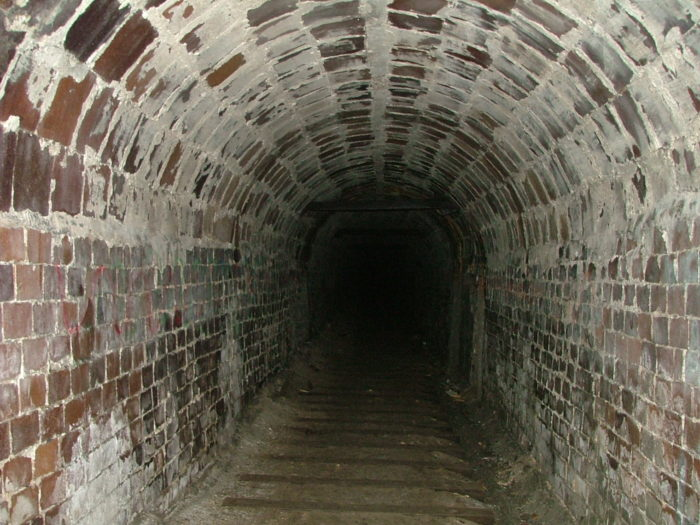 If you do decide to risk it, the further you venture into the tunnel, the creepier it gets...