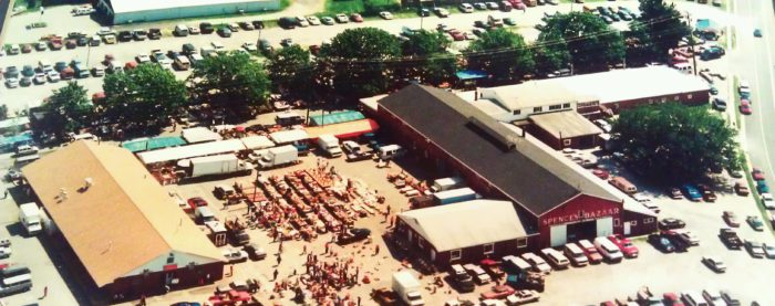 This farmer's market, flea market and auction combination is what dreams are made of.