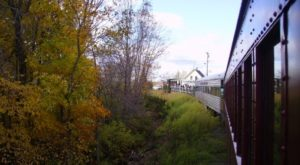 Take This Fall Foliage Train Ride Through Maine For A One-Of-A-Kind Experience
