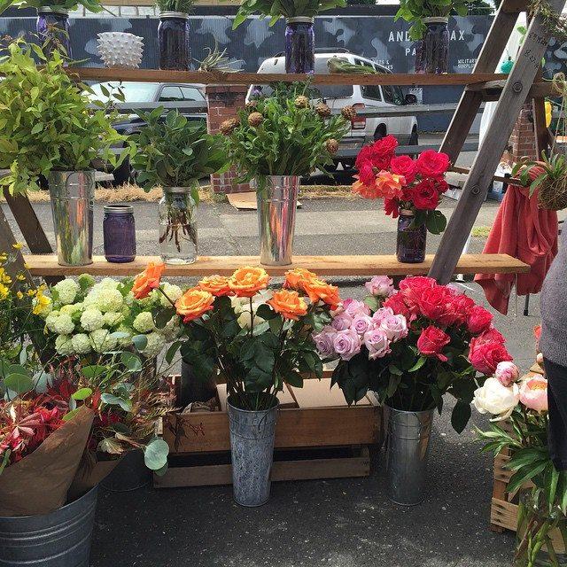 .... beautiful floral arrangements and cacti...