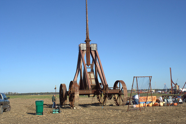 6. Yankee Siege Catapult, Greenfield