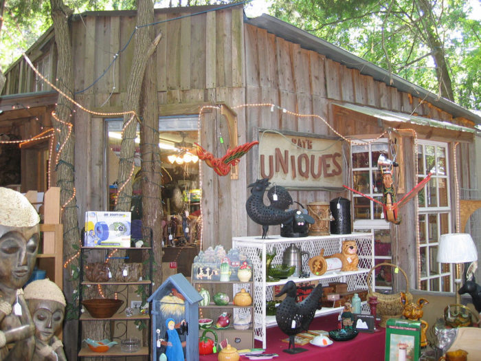 You can browse at unique antiques that can't be found anywhere else...