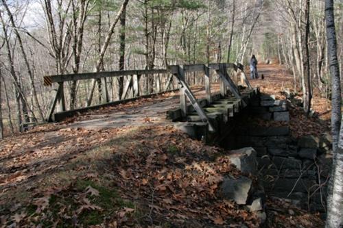 7. Mason Railroad Trail