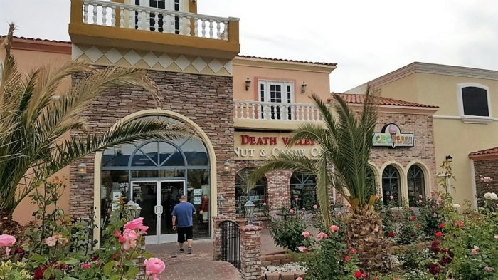 ... oh, by the way, there's also a massive Nevada candy store, Death Valley Nut & Candy Co. Will wonders never cease?!