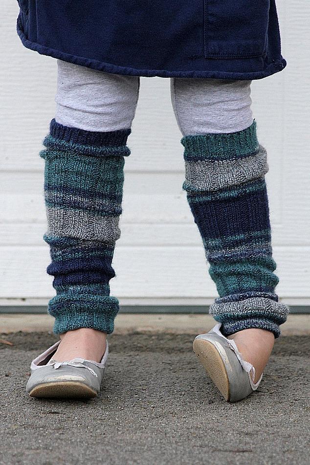 2. Leg Warmers & Sweater Dresses