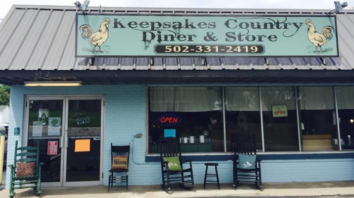2. Keepsakes Country Diner, Chaplin