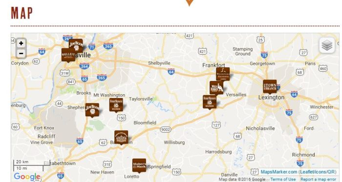 11. The Kentucky Bourbon Trail.
