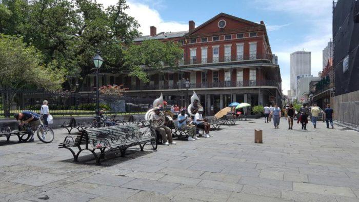 2) Jackson Square, 506 C St. Peter St.