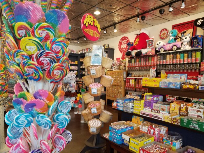Walking in the front door, you'll find yourself surrounded by colorful packages, proclaiming the best, chewiest, sweetest flavors on the planet.