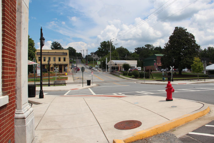 The town of Blue Ridge holds less than 1300 people, so it's got that small town charm that everyone adores.